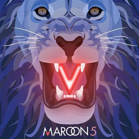 design cover maroon 5 maroon 5 album cover by audreyfacchi