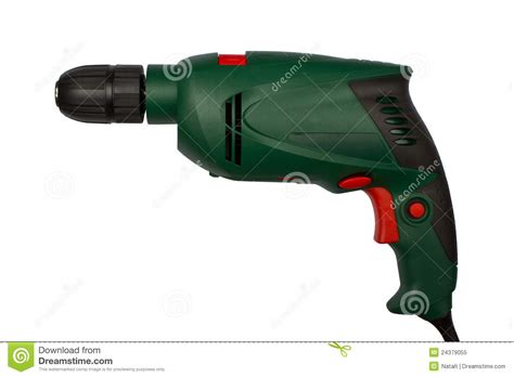 no drill knobs green electric drill without handle royalty free stock