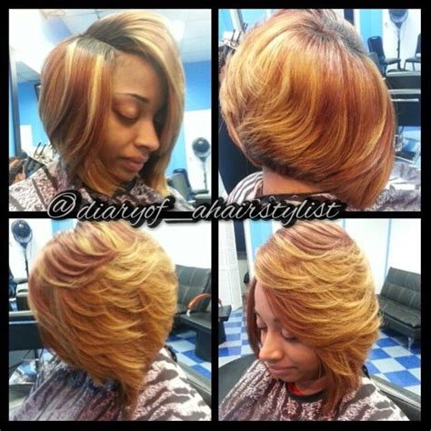 bob wigs with invisible part invisible part quickweave bob hair pinterest bobs