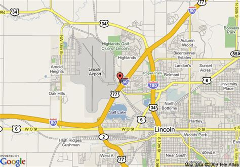 directions to lincoln ne map of americas best value lincoln lincoln