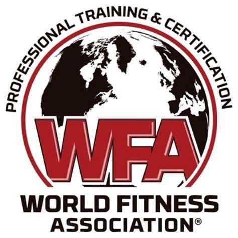 Kaos Fitness World Logo 07 world fitness assoc wfacertified