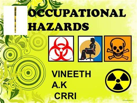 Occupational Hazard by Occupational Dentistry Industrial Dentistry