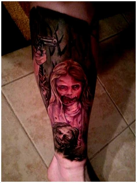 zombie bite tattoo designs 40 designs that scare to