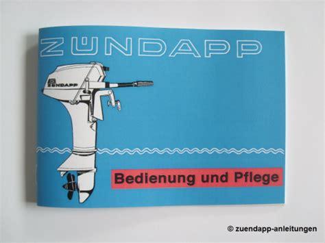 Bootsmotor Aufkleber by Bedienungsanleitung Z 252 Ndapp Bootsmotor Typ 304 Mit 5 Ps