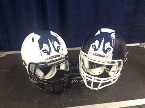 college football helmet design history did uconn just reveal the worst helmets in college