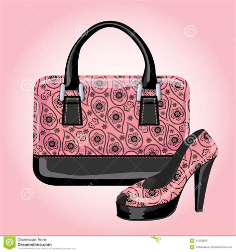 Hs Miniso Plan Tote Bag set of s handbags with paisley ornament stock vector image 41628029