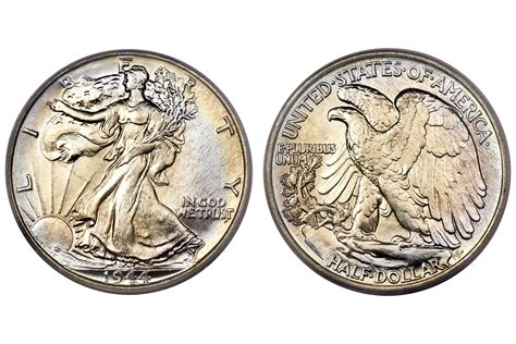 price in dollars walking liberty half dollar values and prices