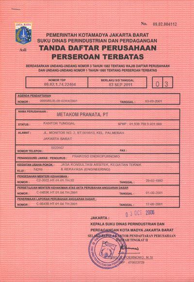 pendirian yayasan pdf dokumen legal aspek pendirian perusahaan sapiuduk s blog