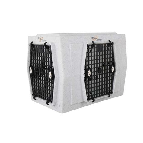 dog crate side intermediate double door side entry dog crate