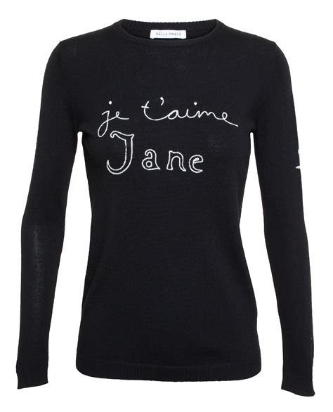 Sweater Jetaime Wedges freud je taime jumper in black lyst