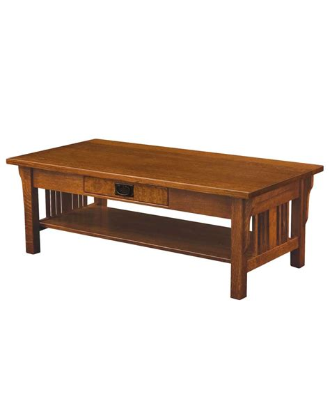 Mission Coffee Table Elliot Mission Coffee Table Amish Direct Furniture