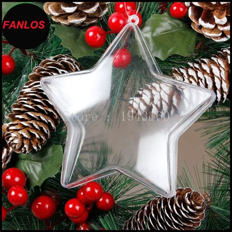 popular clear plastic ball fillable ornament buy cheap