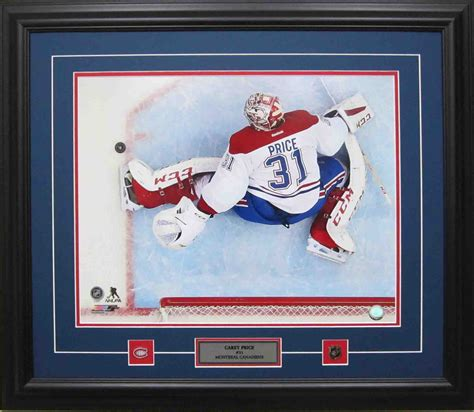 Careys New Signature Style It Or It by Carey Price 16 X 20 Signature Authentics