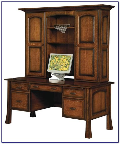 wood desk with hutch solid wood white desk with hutch desk home design