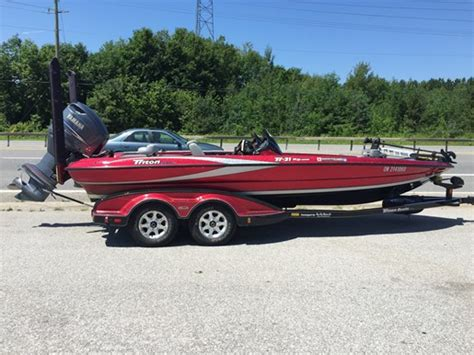 used tritoon boats for sale in ontario triton tr21 xd dc 2006 used boat for sale in shelburne