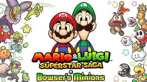 Kaset 3ds Mario Luigi Superstar Saga Bowser S Minions Mario Luigi Superstar Saga Bowser S Minions Announced For 3ds