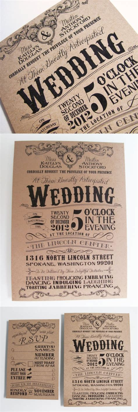 Small Wedding Invitations ? Mulberry Lane Studio