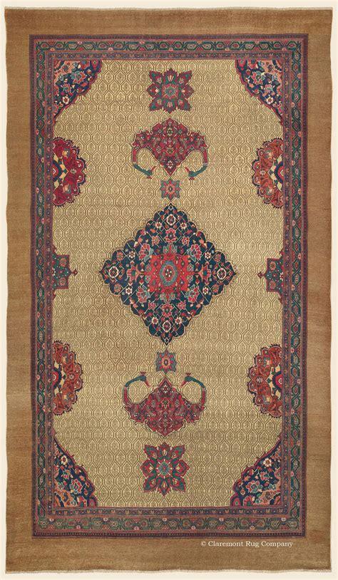 vintage rug company serab camelhair northwest antique rug claremont rug company
