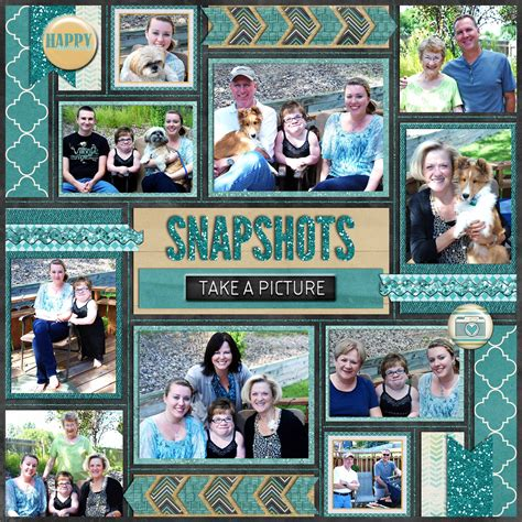 photography scrapbook layout ideas snapshots take a picture mosaic style 10 photo layout