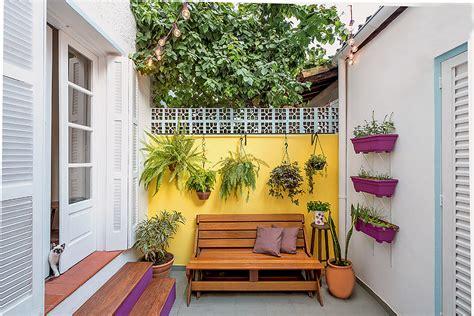 decorar paredes do quintal 9 quintais charmosos repletos de plantas minha casa