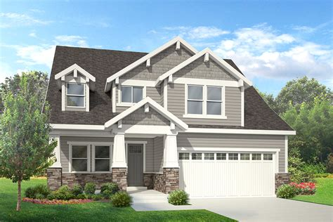 craftsman style home plans one story corglife two house