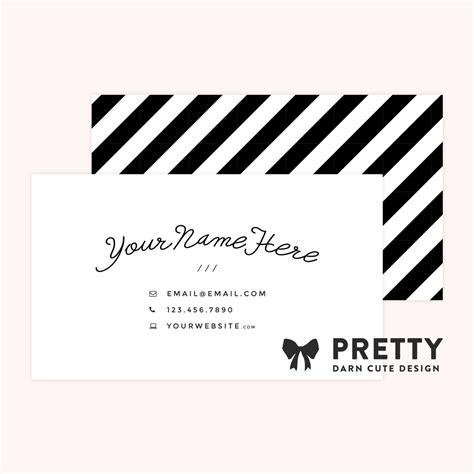 pretty business card templates pretty theme pretty darn design