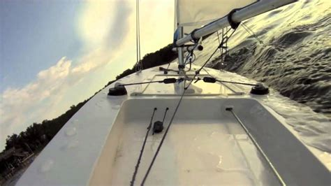 rc boats with camera rc sail boat with on board gopro camera youtube