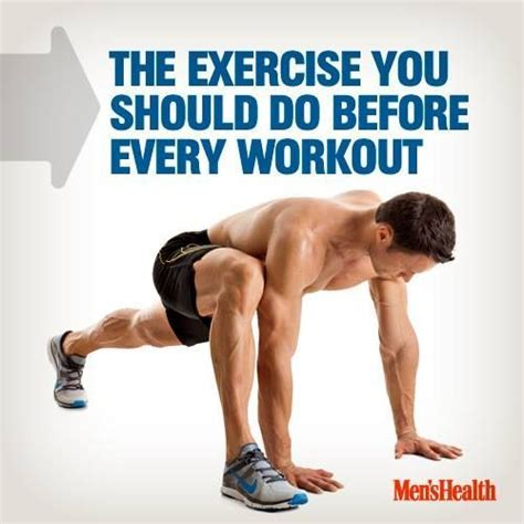 the exercise you should do before every workout home