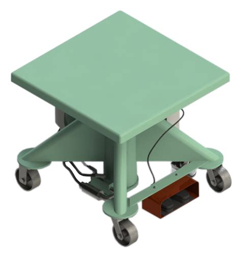 Electric Lift Table by Electric Power Lift Tables Lange Lift