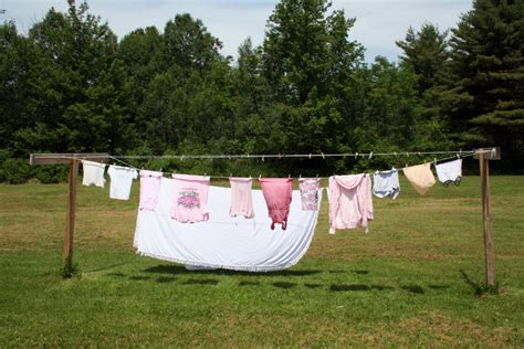 Backyard Clothesline by Clothesline Profile On The Clothes Line