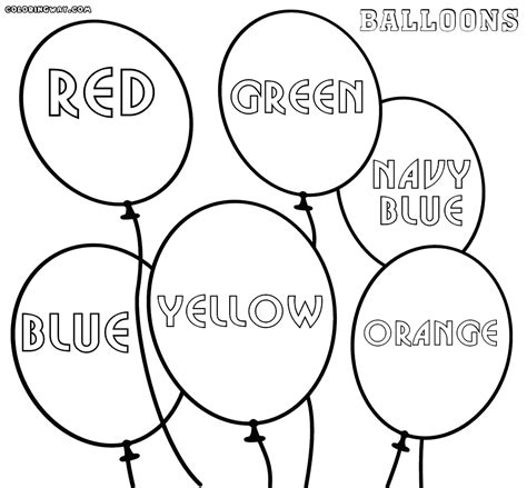 balloon coloring pages balloon coloring pages coloring pages to and print