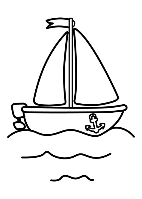 boat pictures for kindergarten pin by shreya thakur on free coloring pages coloring