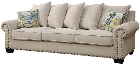 ivory sofa skyler ivory sofa from furniture of america coleman