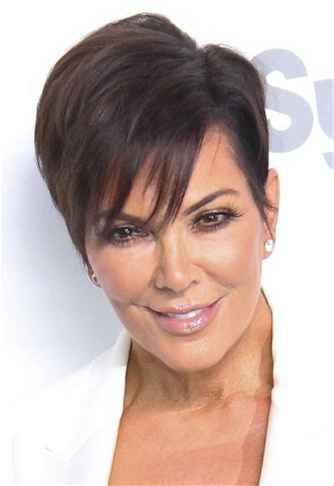 trend hairstyles 2015 new kris kardashian haircut trendy hairstyles kris jenner short sideswept hairstyle