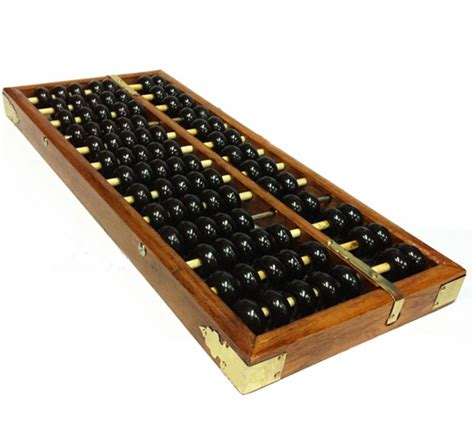 beaded calculators vintage style wooden abacus lucky