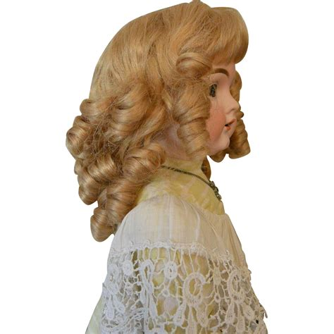 Barrel Curl Wigs | quot french human hair wig with bangs and barrel curls quot from
