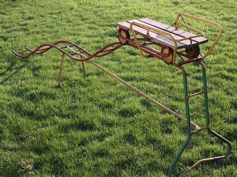 you can own your own vintage back yard roller coaster