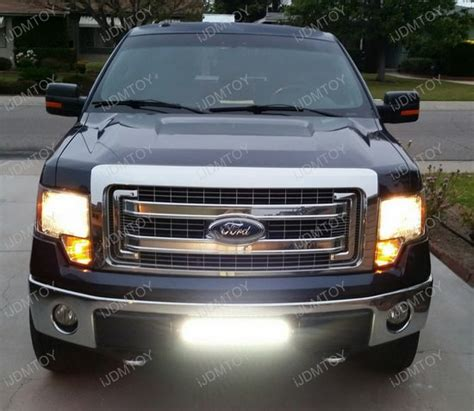 ford f150 led light bar 96w high power led light bar for 2009 2014 ford f 150 f150