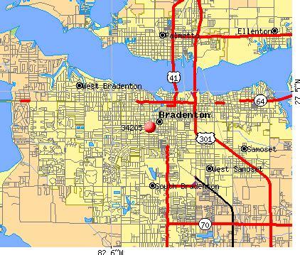 map of bradenton florida and surrounding area bradenton zip code map zip code map