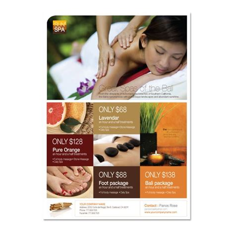 Beauty Spa Flyer Template Dlayouts Graphic Design Blog Salon Flyer Templates Free