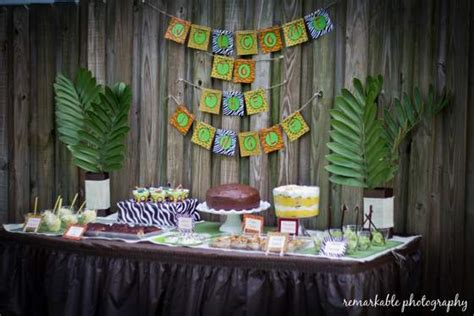 baby shower jungle theme decorations jungle theme baby shower baby shower ideas themes