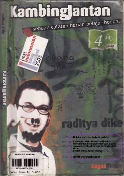 Kambing Jantan The Comic kumpulan novel karya raditya dika geektech