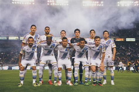 The Turn Out For The The La Galaxy Vs Chelsea Fc Match by L A Galaxy Kick Title Defense By Breezing Through