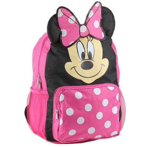 Minnie Mouse Toddler Backpack disney mickey minnie mouse 3d ears toddler backpack
