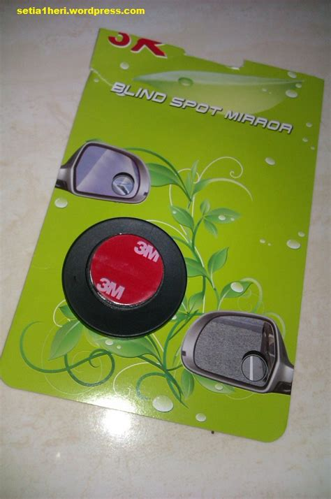 Barang Berkualitas Blind Spot Mirror Kaca Spion Kecil Tambahan Mobil memasang blind spot mirror setia1heri