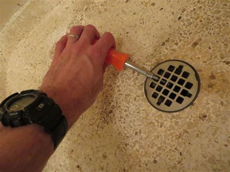 What Unclogs Shower Drains by Unclog A Shower Drain With Pvc And An Inner All