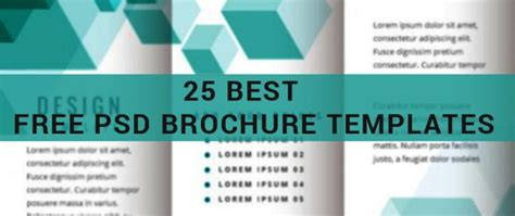 best free brochure templates 25 best free psd brochure templates for in 2016