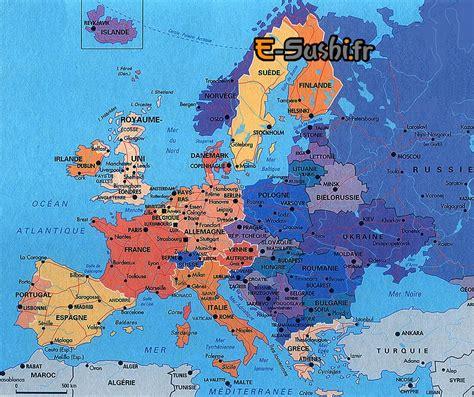 Europe Search Carte De Leurope Avec Les Capitales