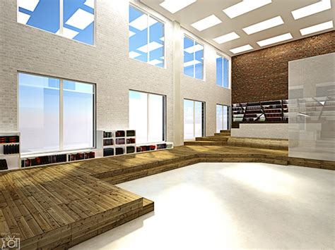 Library Interior Design Concept by Hanoi Library Interior Design Project Concept On