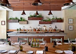 Organic Indoor Herb Garden - how to instantly upgrade your kitchen without spending a small fortune freshome com